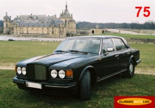 BENTLEY TURBO R 1990 NOIRE