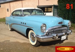 BUICK EIGHT 1953 Bleu