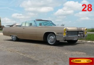 Cadillac Deville 1966 Gold