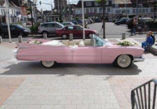 location cadillac eldorado 1959 rose 1959 rose halluin. Black Bedroom Furniture Sets. Home Design Ideas