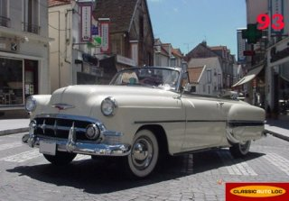 Chevrolet Bel Air 1953 Blanc