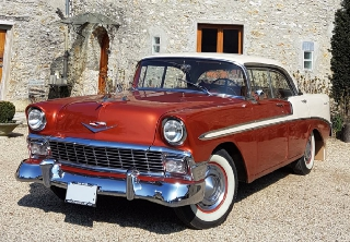 Chevrolet BEL AIR COUPE SEDAN 1956 BRONZE