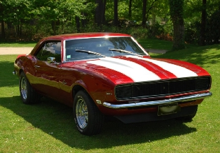 Chevrolet CAMARO 1968 ROUGE