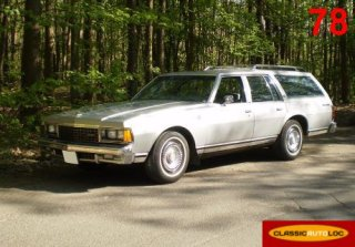 Chevrolet Caprice Break 1978 Gris