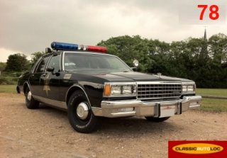 Chevrolet Sheriff USA 1981 Noir