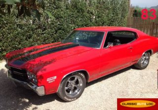 Chevrolet Chevelle 1970 Rouge