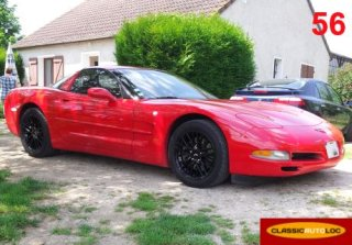 Chevrolet Corvette C5 2001 Rouge
