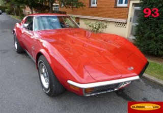 Chevrolet Corvette C3 Sting Ray 1972