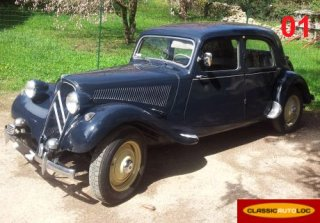 Citroen traction 11BL 1955 BLEU
