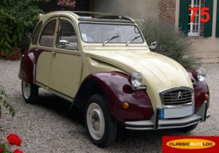 Citroën 2CV Dolly 1986 Rouge/Jaune