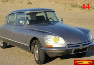 Citroen DS 1970 gris palladium