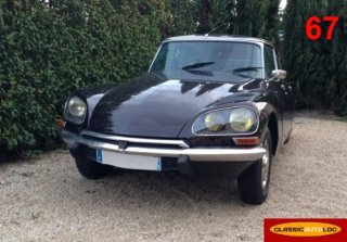 CITROEN DS 1973 BRUN NACREE