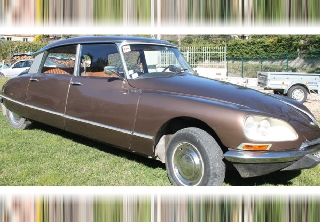 Citroën DS 20 Pallas 1970 Marron Glacé