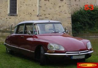 CITROEN DS 21 1969 Bordeaux/Gris
