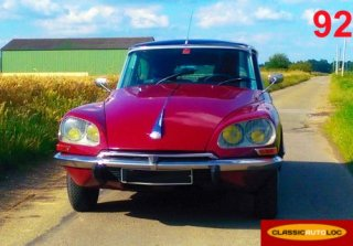 Citroën DS 21 Pallas 1974 Rouge Rubis