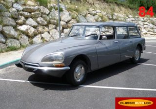 Citroen DS 23 Break 1973 GRIS