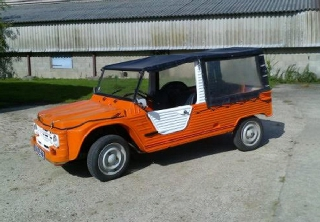 Citroën mehari 1978 orange