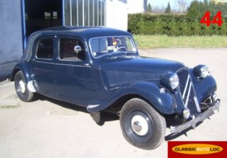 Citroën Traction 11 1955 Bleu