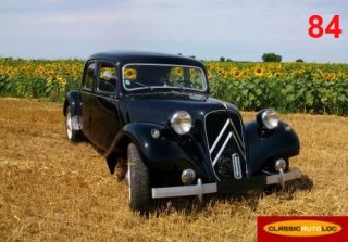 Citroen Traction 11 BL 1953 Noir