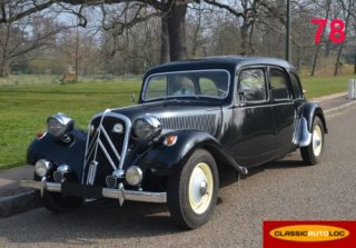 Citroën Traction 11 Familiale 1957