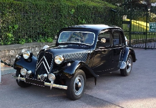 Citroën Traction 11 Legere 1953 Noir