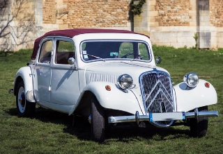 Citroen  Traction 11B 1953 Blanche