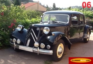 Citroen Traction 11B 1953 Noir