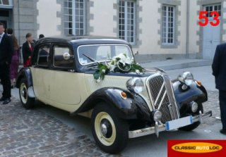 Citroën Traction 11B 1954 Beige/Marron-métal