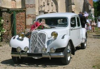 Citroën TRACTION 11B 1954 BLANC