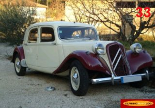 Citroen Traction 11B 1954