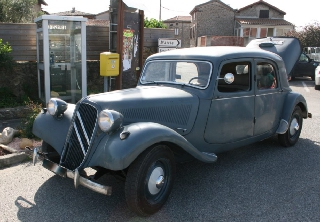 Citroën Traction 11B 1954 Gris-Bleu