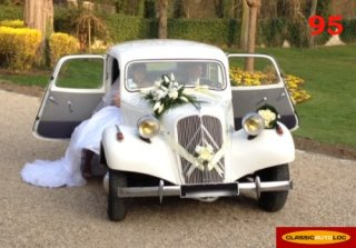 CITROEN TRACTION 11B 1955 BLANC