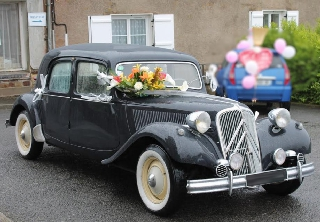 Citroën traction 11b bleue
