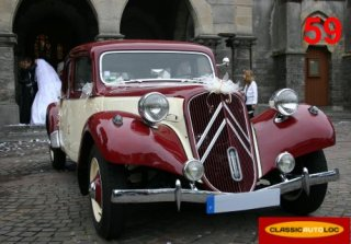 Citro�n Traction Familiale 1954 Cr�me et Bdx