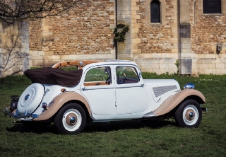 Citroen  Traction 11BL 1950 Creme Caramel