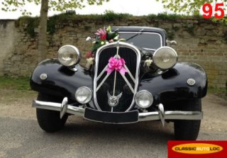 Citroen Traction 11BL 1951 Noir