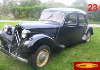 CITROEN TRACTION 11BL 1953