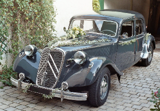 Citroen Traction 15/6H 1954 Gris fonc�