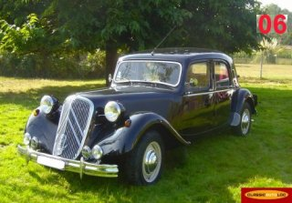 Citro�n Traction 15 6yl. 1949 Noir