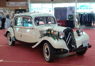 CITROEN TRACTION 1 BL 1951 IVOIRE