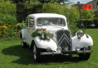 Citroen Traction 1953 Blanche