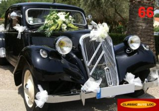 Citroen Traction 1954 Noir