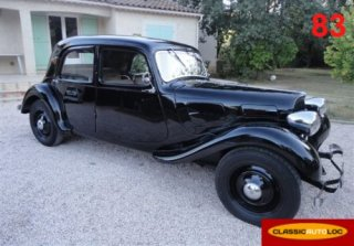 Citroen Traction 7C 1936 Noir