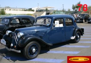Citroen Traction 7C 1939 Bleu/Noir