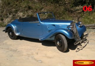 Citroën Traction Cabriolet R 1940 Bleu