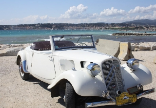 Citroën Traction Cabriolet 7C 1938 Blanc