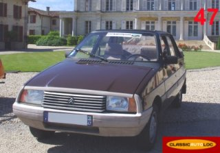 Citroën Visa 1982 Marron