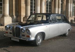 daimler ds 420 limousine 1984 noirgris - Location Voiture Ancienne Mariage Pas Cher