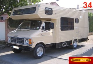 DODGE CB300 Camping Car 1980