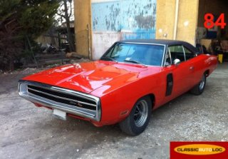 Dodge Charger 1970 Orange
